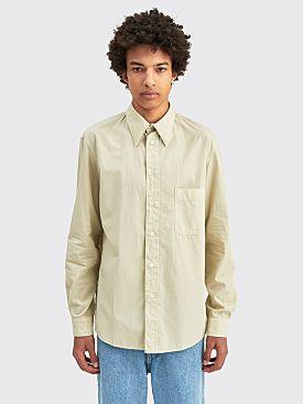Lemaire Regular Shirt Pelican Grey