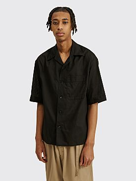 Lemaire Short Sleeve Shirt Black