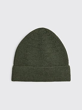 Lemaire Knitted Hat Pine