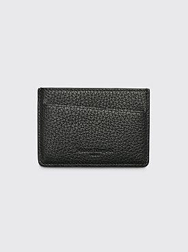 Maison Margiela Leather Card Holder Black