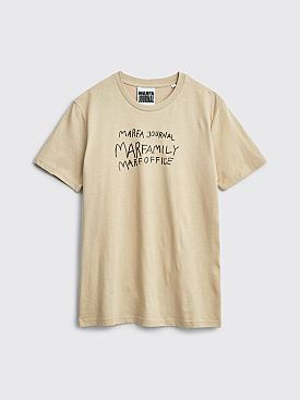 Marfa Journal Marfa T-shirt Beige