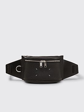 Maison Margiela Leather Belt Bag Black