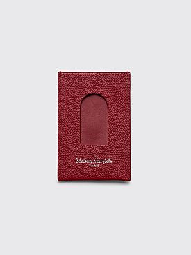 Maison Margiela Card Sleeve Pompeian Red