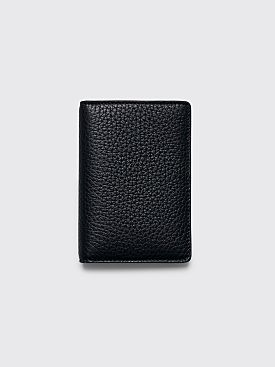 Maison Margiela Leather Card Wallet Black