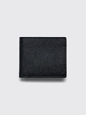 Maison Margiela Grainy Embossed Leather Wallet Black