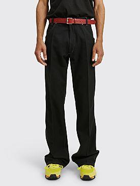 Maison Margiela Twill Trousers Black
