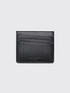 Maison Margiela Smooth Leather Card Holder Black