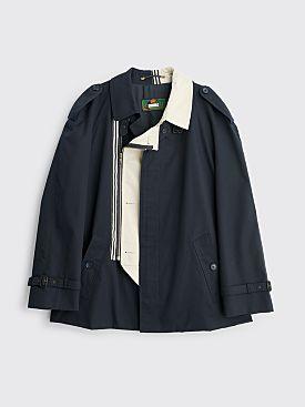 Marina Yee Mister David Zipper Coat Navy / Mastic