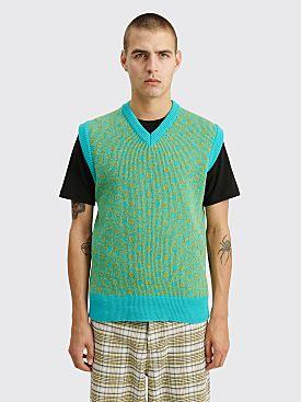 Marni Knit Vest Blue / Green