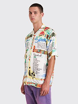 Martine Rose Hawaiian Ackee Shirt White