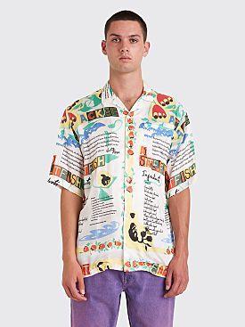 Martine Rose Hawaiian Ackee Shirt White