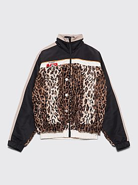 Martine Rose Hybrid Track Jacket Light Leo Black