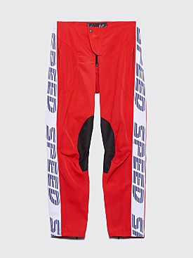 Martine Rose Motorcross Pants Red