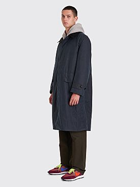 Margaret Howell x Barbour A73 Wax Coat Navy