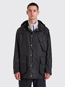 Margaret Howell x Barbour A7 Wax Jacket Black