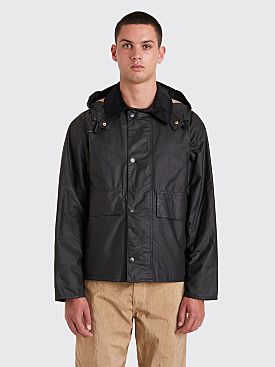 Margaret Howell x Barbour Spey Wax Jacket Black