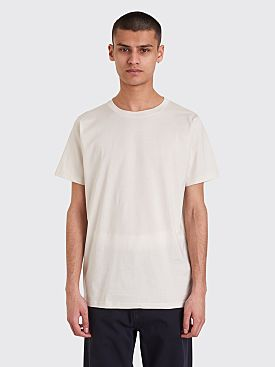 Margaret Howell Short Sleeve T-shirt Chalk