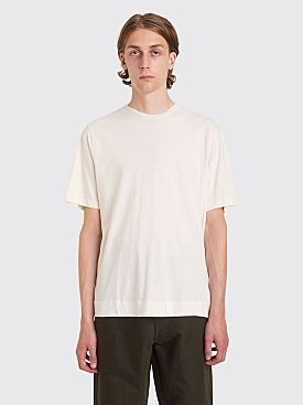 Margaret Howell MHL Basic Jersey T-shirt Ecru