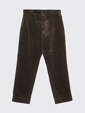 Margaret Howell MHL Tapered Heavy Corduroy Pants Bark