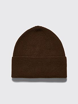 Margaret Howell Ribbed Beanie Military Green