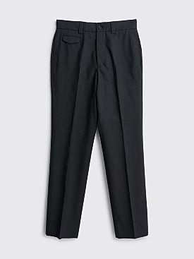 Margaret Howell Ticket Pocket Trouser Wool Black