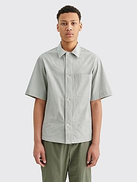 Margaret Howell Drop Pocket PJ Shirt Light Green