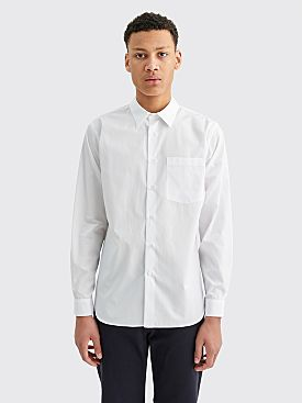 Margaret Howell Basic Shirt Plain Poplin White