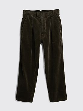 Margaret Howell MHL Wide Hem Trouser Heavy Corduroy Mouse