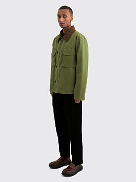 Margaret Howell MHL Deck Jacket Dry Plainweave Cotton Sage