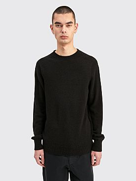 Margaret Howell Saddle Neck Crew Merino Cashmere Cocoa