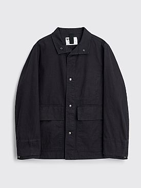 Margaret Howell MHL Miners Jacket Cotton Twill Indigo