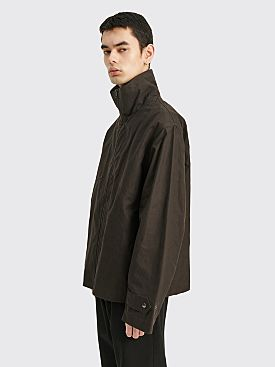 Margaret Howell MHL Rescue Jacket Washed Waxed Cotton Carob