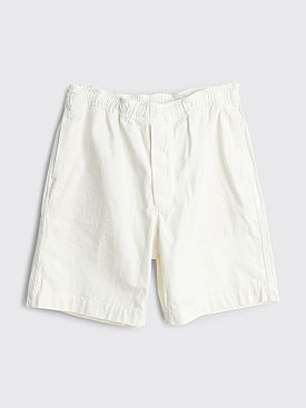 Margaret Howell MHL Pull Up Shorts White