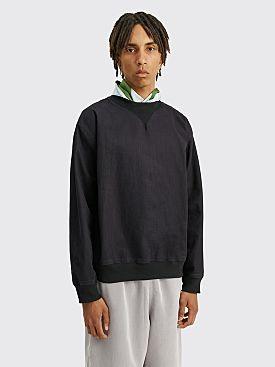 Margaret Howell MHL Woven Sweatshirt Indigo Twill