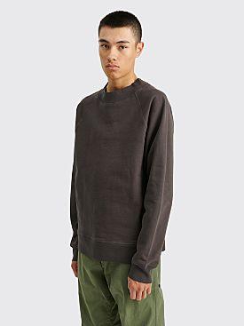Margaret Howell MHL Sweatshirt Dry Loopback Jersey Slate