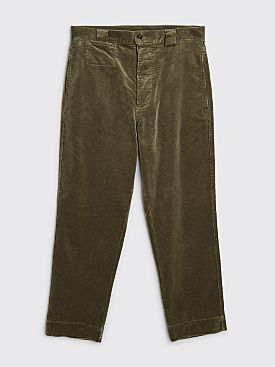 Margaret Howell MHL Tapered Trouser Heavy Corduroy Sage
