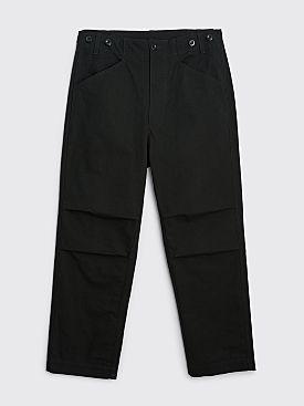 Margaret Howell MHL Surplus Trouser Cotton Drill Black