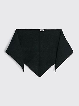 Margaret Howell MHL Scout Scarf Lambswool Black