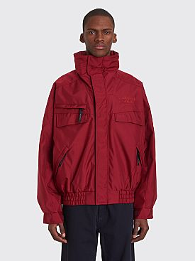 Napa by Martine Rose Allos Jacket Burgundy