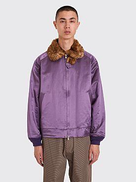 62384809499a Needles Sateen Sport Jacket Purple