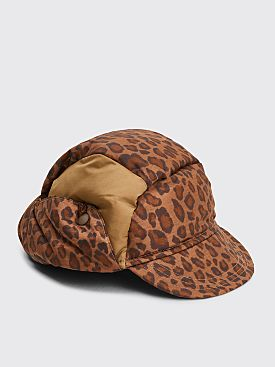 Needles Padded Cap Leopard Brown