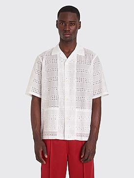 Needles Cabana Shirt Off White