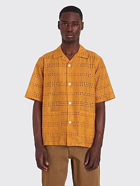 Needles Cabana Shirt Mustard Yellow
