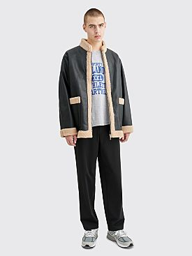 Needles Zipped Tibetan Jacket Black