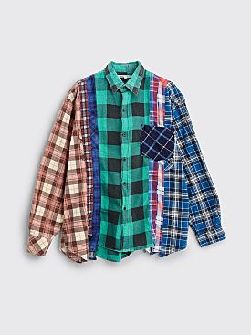 Rebuild by Needles 7 Cuts Flannel Shirt Size S