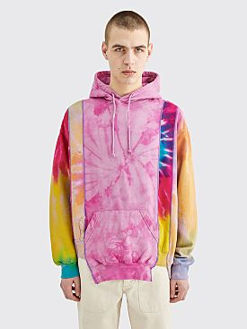 Rebuild by Needles 5 Cuts Hoodie Tie Dye