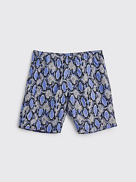 Needles Nylon Swim Shorts Blue