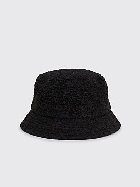 Needles Bucket Hat Cotton Pile Black