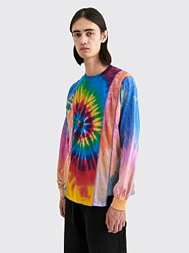 Rebuild by Needles 5 Cuts LS T-shirt Assorted Tie Dye Blue / Green