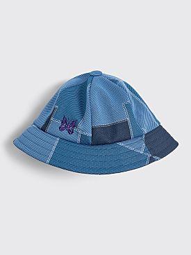 Needles Bermuda Patchwork Hat Blue